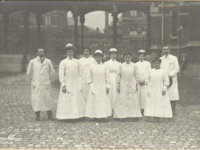 Beknopte historiek van de Antwerpse Gezondheidszorg