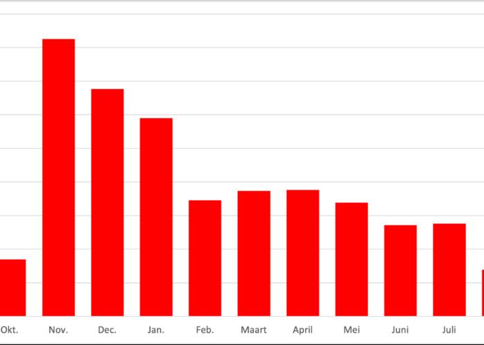 Tien maanden invoer op Vele Handen: een overzicht